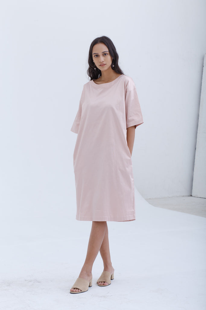 Blush Pink Nisbi Dress