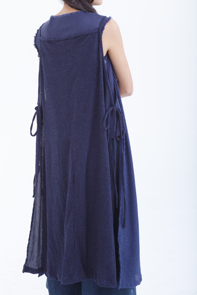 Shoreline Blue Apron Dress