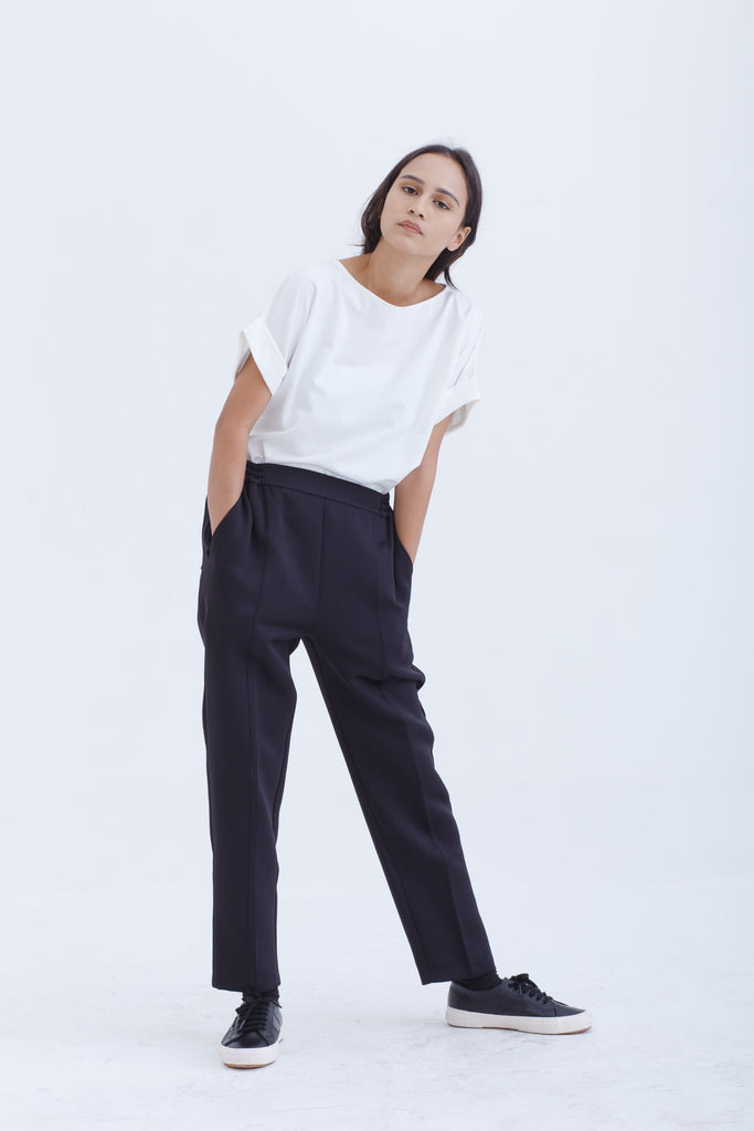 Best Seller — Black Signature Tailored Pants