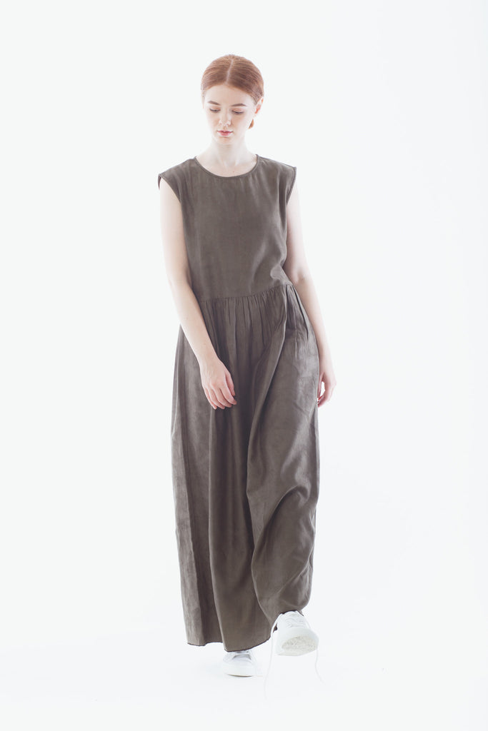 LAST PIECE: Moss Prairie Dress