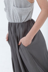 Dark Olive Wide Leg Pants