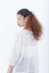 White Darlene Blouse