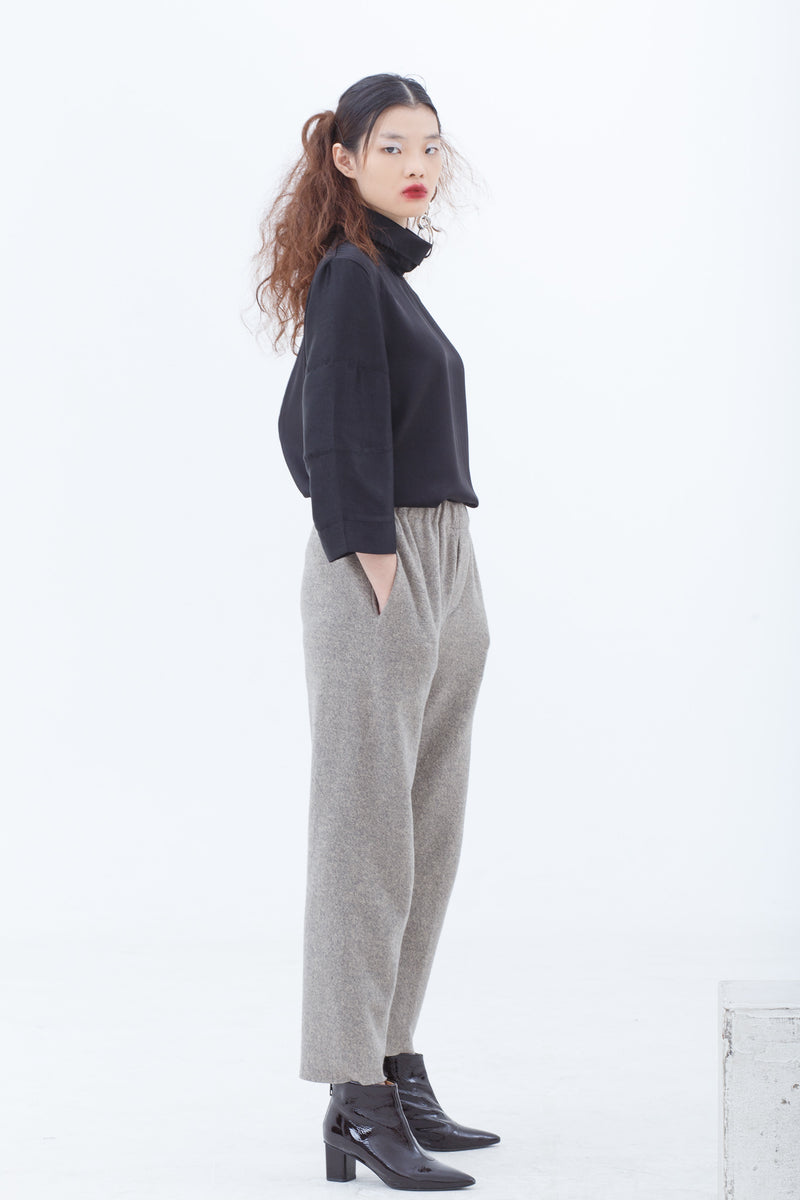 Lila Brushed Pull Up Pants