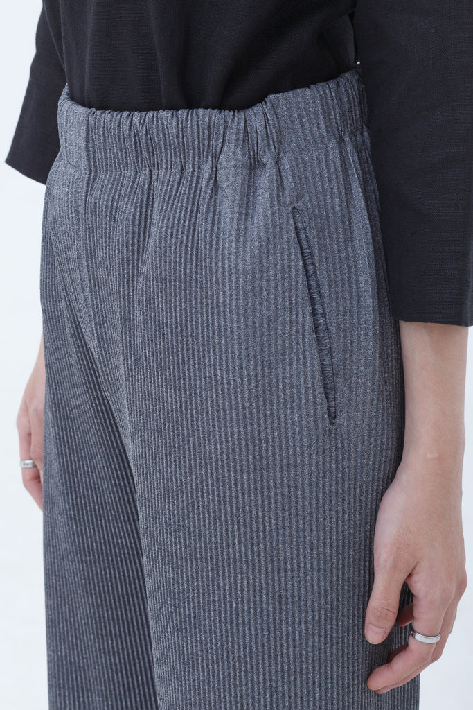 Last Piece — Kamara Pleated Pull Up Pants