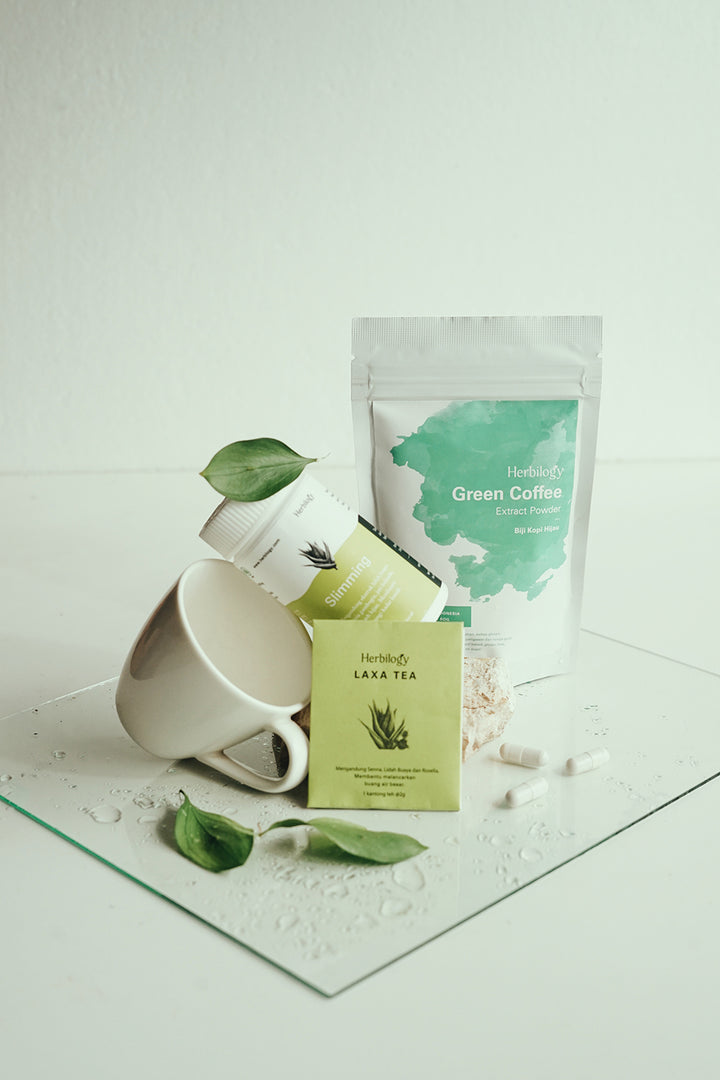 Jiwa Raga Slimming Kit with Green Coffee