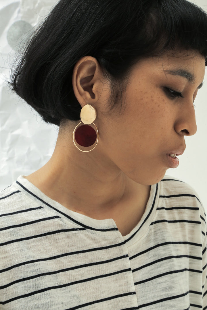 Benua Merah Earrings