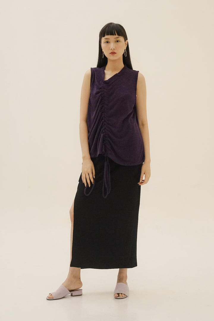 Jenjang Maxi Skirt in Black