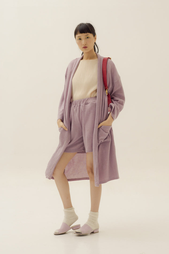 Sesaat Pull Up Shorts in Soft Purple