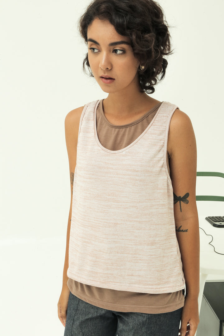 Himpit Tank Top in Marble