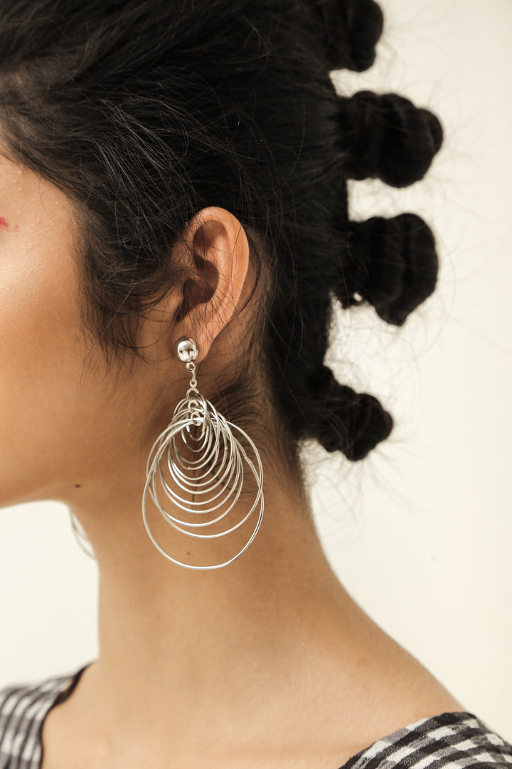 Taifun Silver Earrings