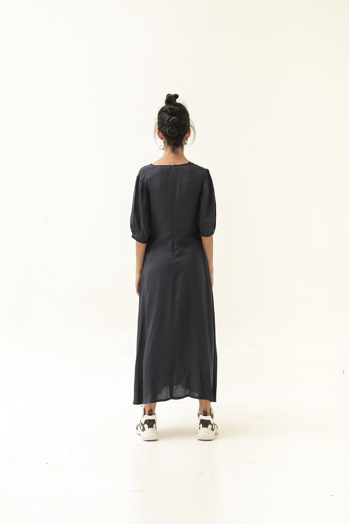 Pre Order –– Gala Gala Dress in Navy Blue