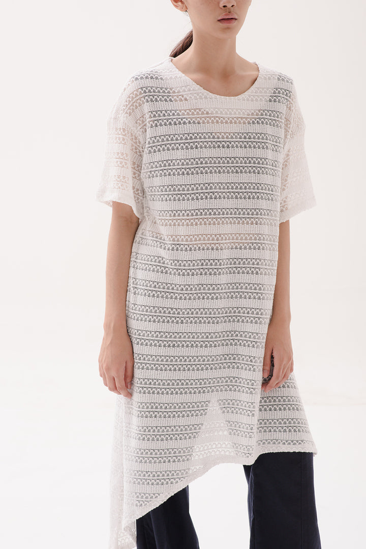 Semampai Dress in White
