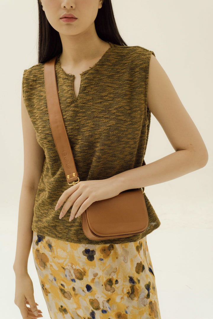 Modern City Bag in Camel