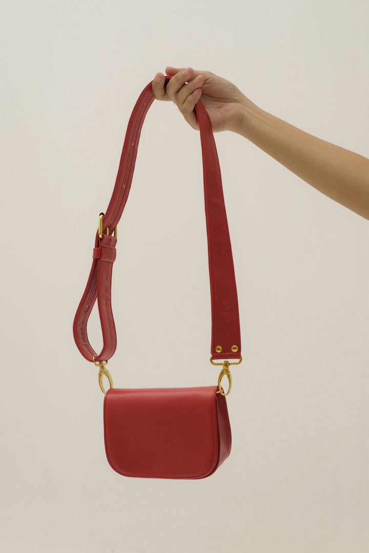 Modern City Bag in Red