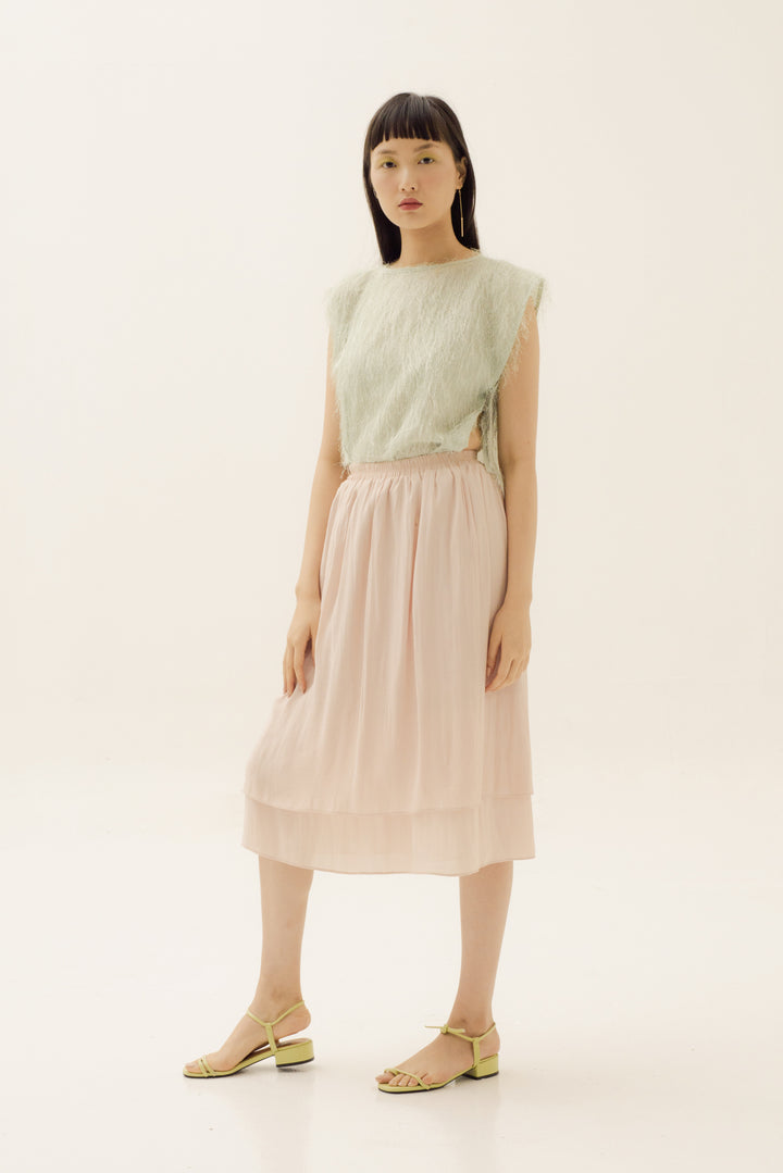 Nona Skirt in Apple Blossom