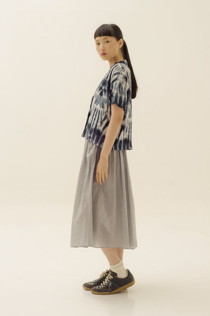 Binar Skirt in Pale Blue