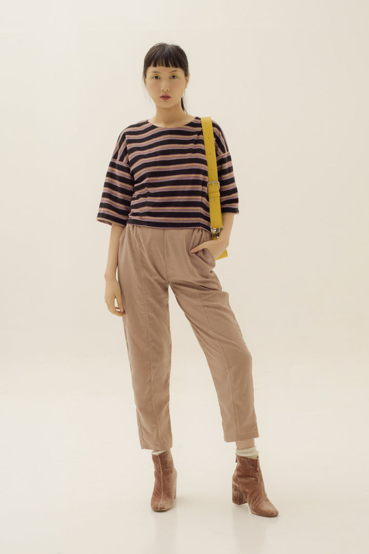 Kupnat Crop Top in Multicolor Stripes