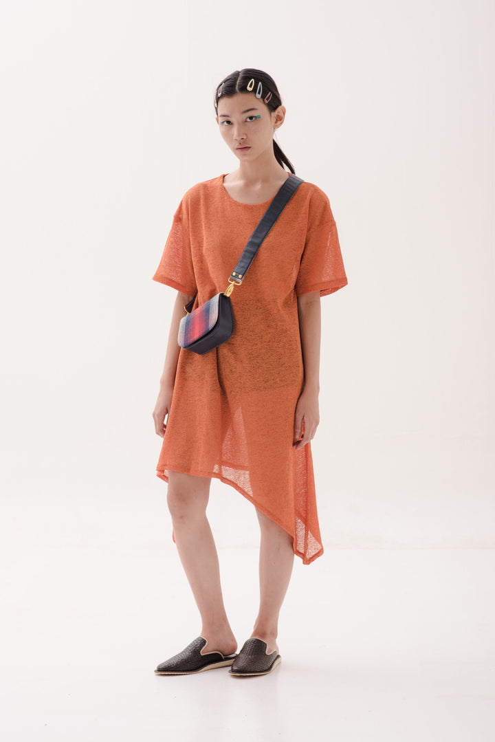 Semampai Dress in Orange