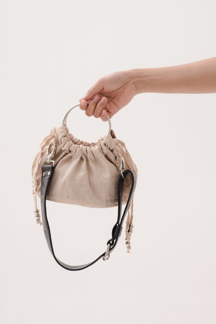 Mini Sinaran Bag in Light Beige
