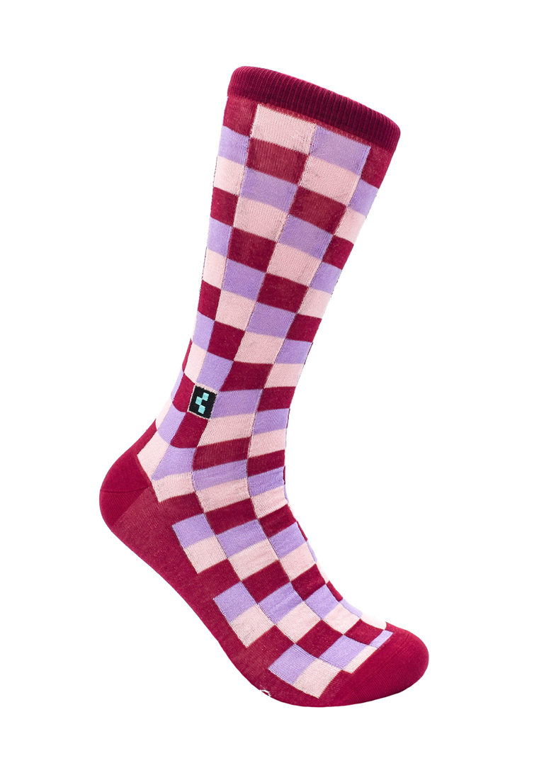 CheckerBox Socks - Broadway
