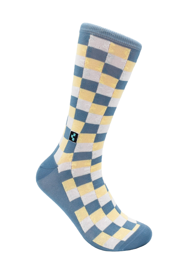 CheckerBox Socks - Madison