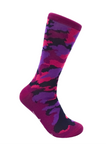 CheckerBox Socks - Purple Camo