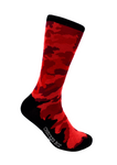CheckerBox Socks - Red Camo