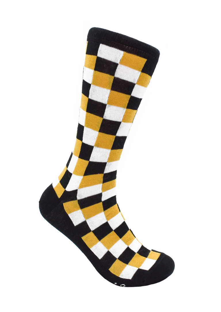 CheckerBox Socks - Saint
