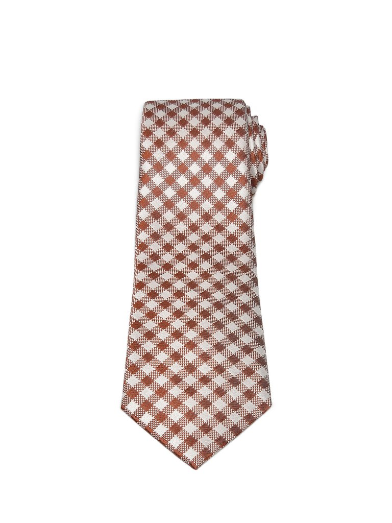 CheckerBox Silk-Fold Ties - The Hudson