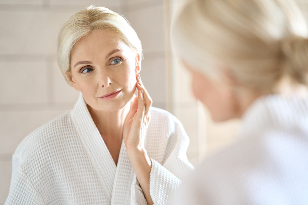 how to get fresh clean and clear skin after 40