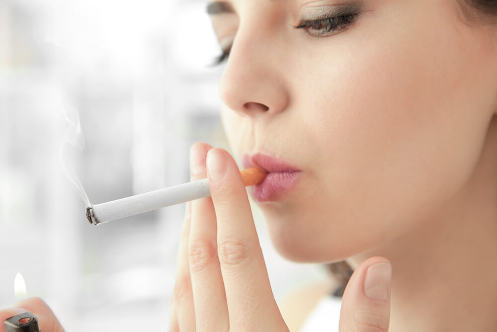 smoking and premature aging
