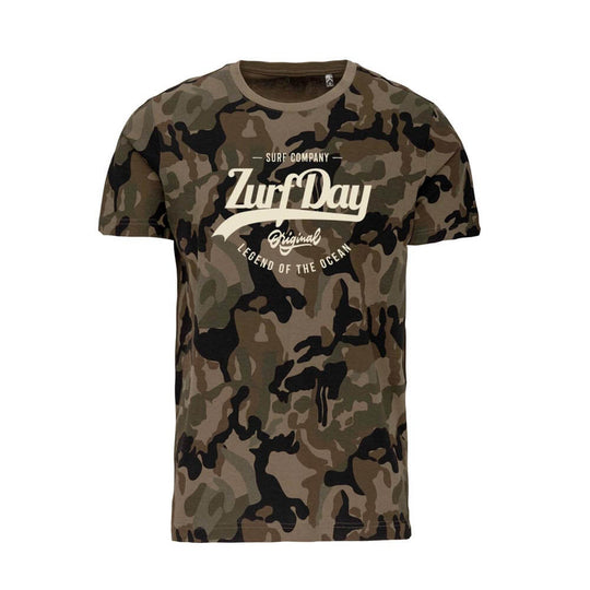 Kurzarm-T-Shirt Camouflage for Men
