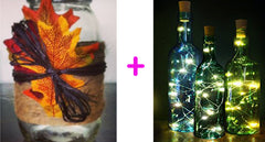 Lighted Wine Bottle DIY