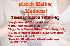 March Malbec Madness Tue March 19th 2019 6-9p