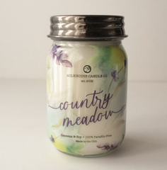 Limited Edition - Country Meadow Wrapped Jar