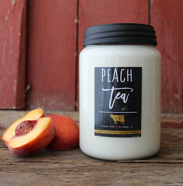 Peach Tea Farmhouse Jar