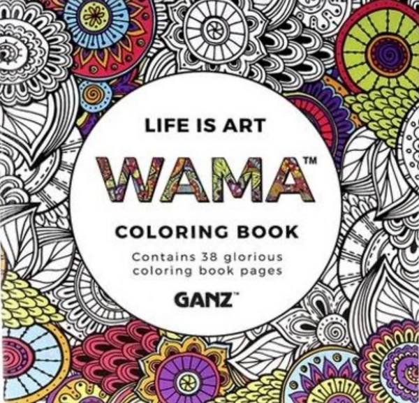 WAMA - Life is Art Coloring Book