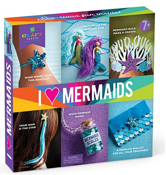 Craft-Tastic - I Love Mermaids Kit