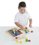 Melissa & Doug - Construction Building Set in a Box