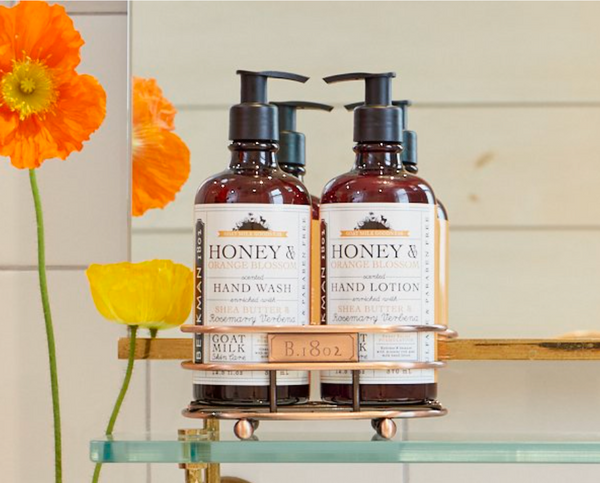 Soap and Lotion Duo - Honey & Orange Blossom