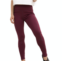Active Lifestyle Leggings - Burgundy