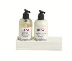Nora Fleming Melamine Soap and Lotion Set