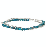 Delicate Stone Bracelet/Necklace - Apatite - Stone of Inspiration