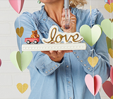 Nora Fleming Love Sign