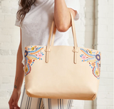 Consuela Breezy East/West Tote  Angel