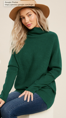 Slouch Neck Pullover