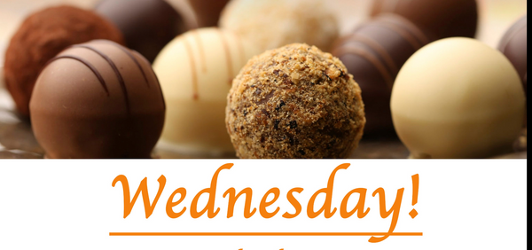 Wine and Chocolate Pairing - Wednesday, March 17th 2021 - 6-9pm