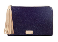 Consuela L-Shaped Clutch Jerry