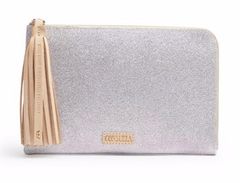 Consuela L-Shaped Clutch Jazz