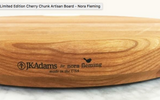 Limited Edition Nora Cherry Wood Board